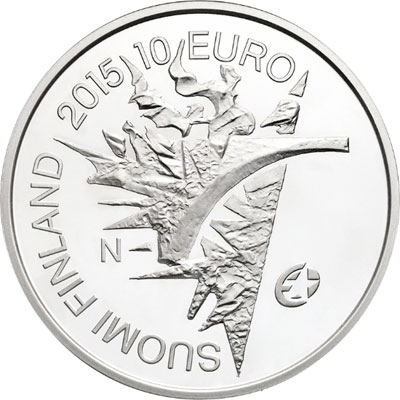 Finland 70 Years of Peace in Europe 10 Euro Silver Coin