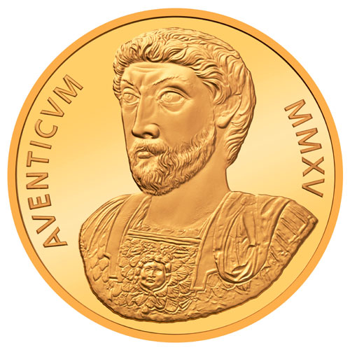 2015 Swiss 2000 Years of Aventicum 50-Franc Gold Coin