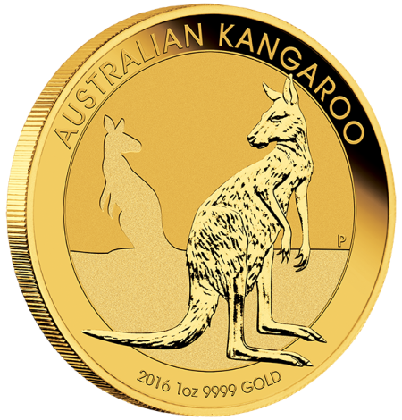 2016 Aus Kangaroo Gold 1oz Bullion