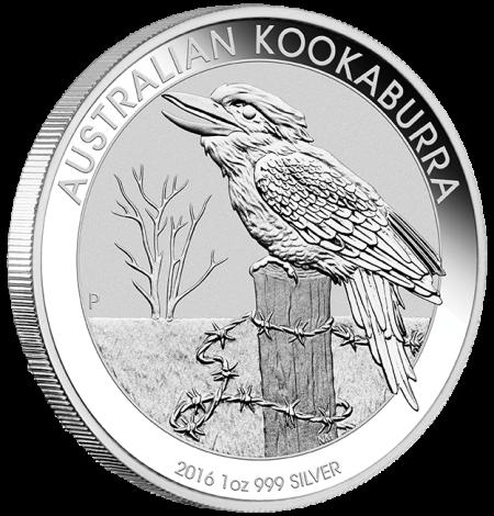 2016 Aus Kookaburra Silver 1oz Bullion