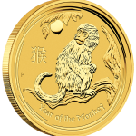 2016 Year Of The Monkey Gold Bullion Coin