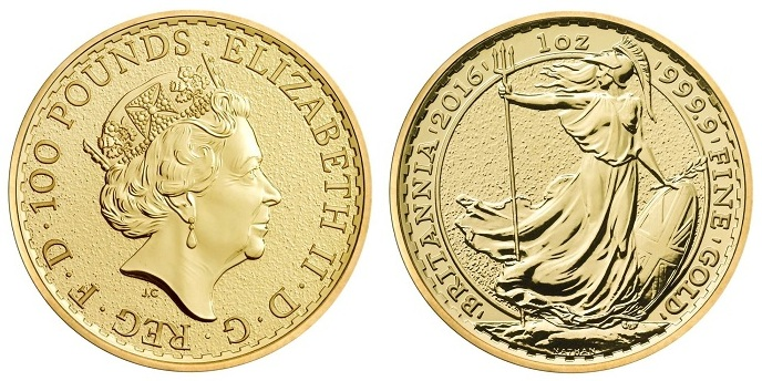 UK 2016 britannia gold 1oz obvBOTH