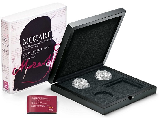 Mozart Collector CaseSMALL