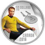 canada 2016 star trek $10 kirkTINy