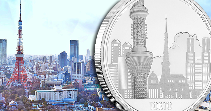 Niue Island New Great Cities Coin Features Tokyo The