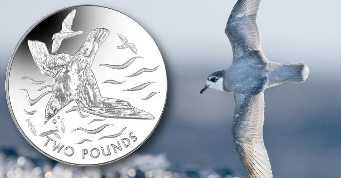 British Antarctic Territory: New titanium coin features graceful