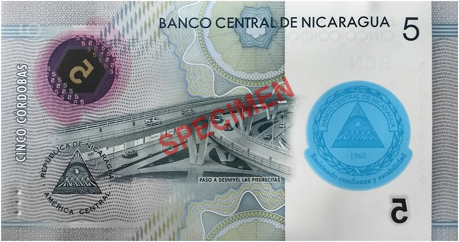 Nicaragua New Commemorative Banknotes And Collector Coins Issued To Celebrate Central Bank S 60th Anniversary Coin Update